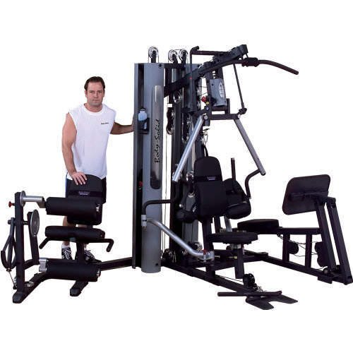 Body solid g b lp bi angular home gym w leg press